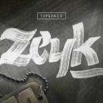 Zeyk Brush Font
