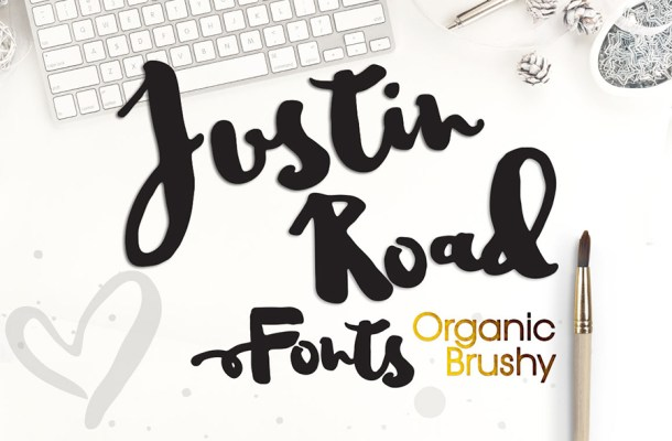 Justin Road Font Free