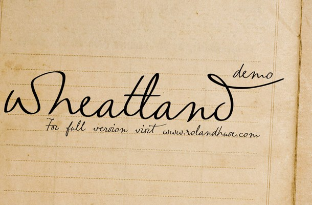 Wheatland Font Free