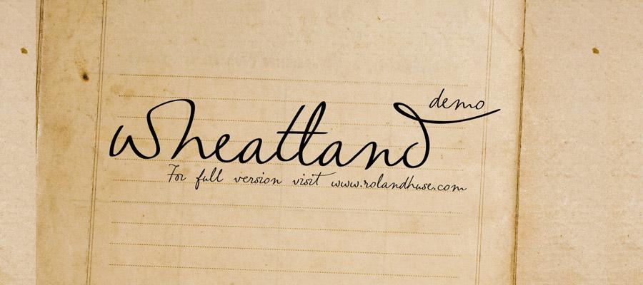01_wheatland-free-font
