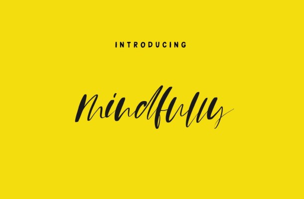 Mindfully Font Free