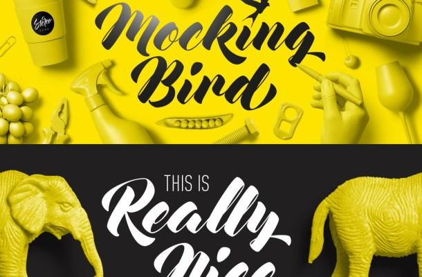 Mocking Bird Font Free