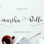 Marsha Belle Font Free