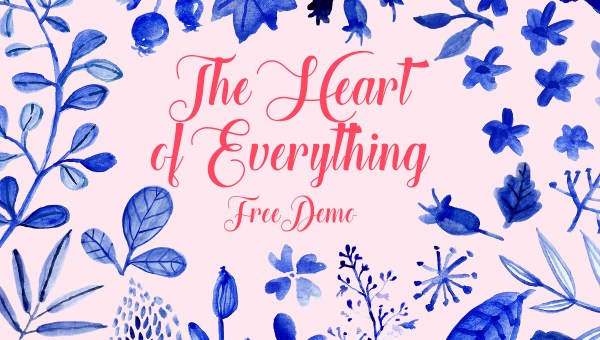 Heart of Everything Font Free