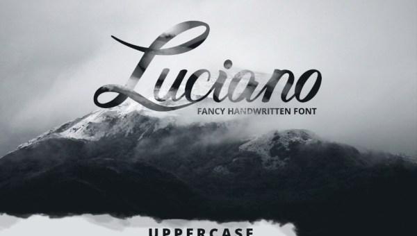 Luciano Script Font Free