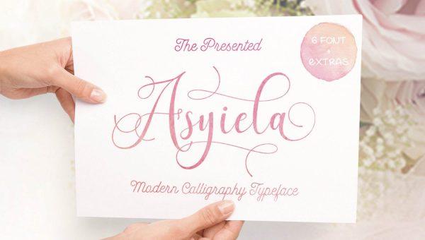 Asyiela Script Font Free