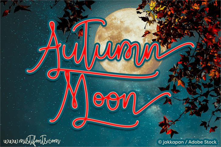 autumn-moon-script-font