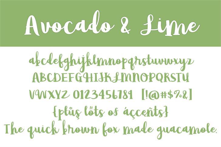 avocado-lime-script-font-3