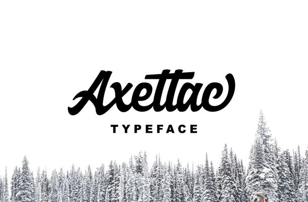 Axettac Script Font Free