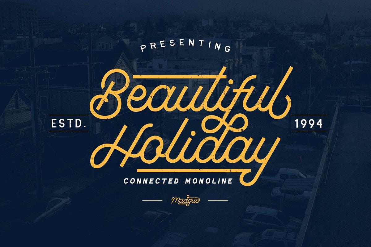 beautiful-holiday-font