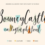 Bouncy Castle Font Family Free