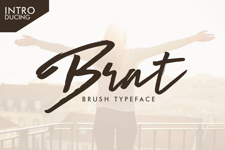 brat-brush-typeface
