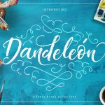 Dandeleon Brush Script Font Free