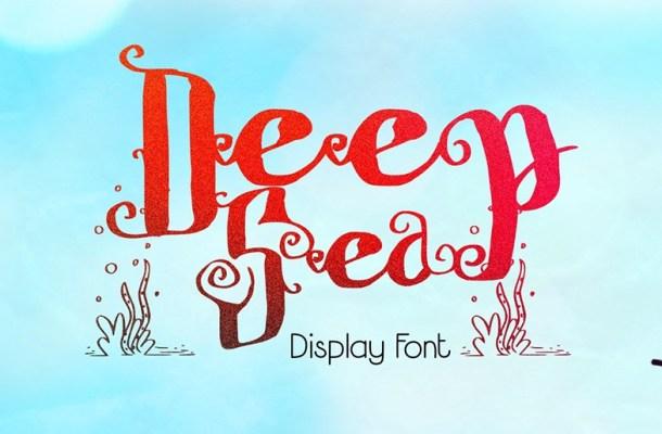 Deep Sea Font Free