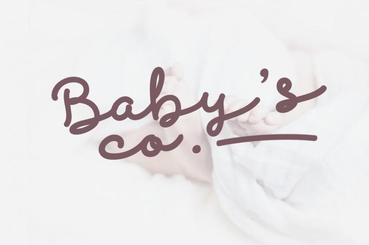 discobaby-script-font