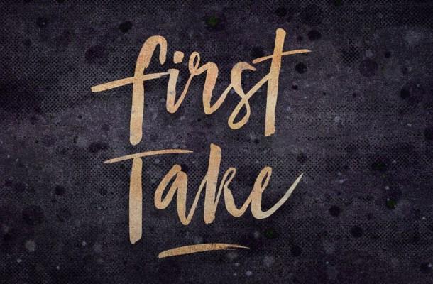 First Take Brush Font Free