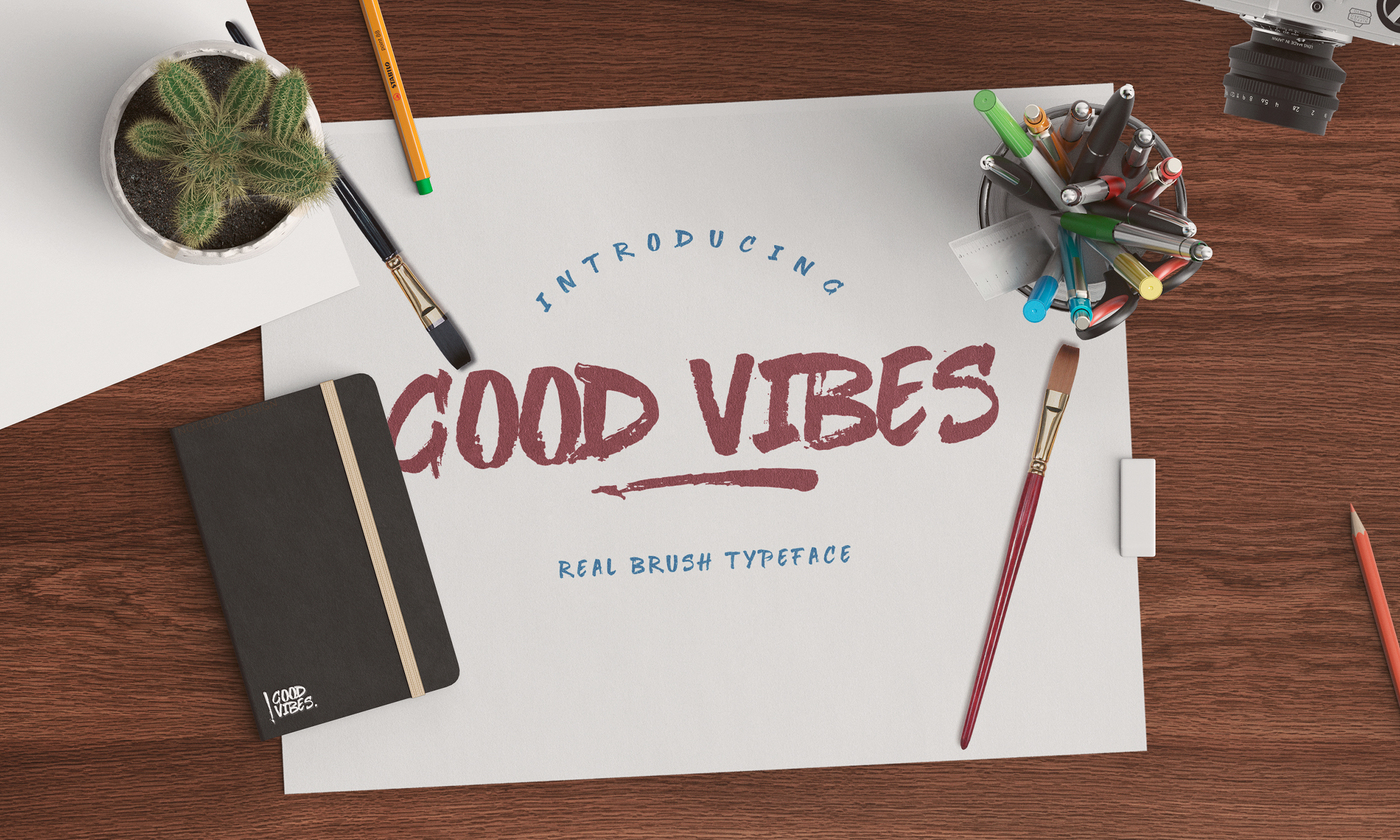 good-vibes-brush-font
