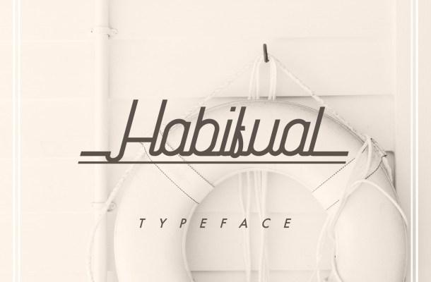 Habitual Typeface Free