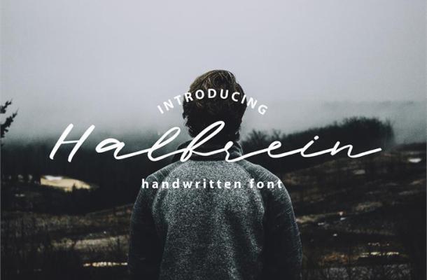 Halbrein Script Font Free