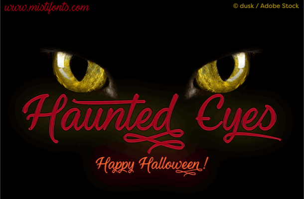 Haunted Eyes Font Free