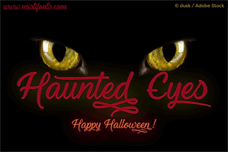 haunted-eyes-font