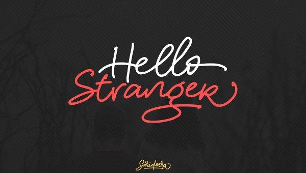Hello Stranger Font Free