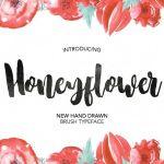 Honeyflower Script Font Free
