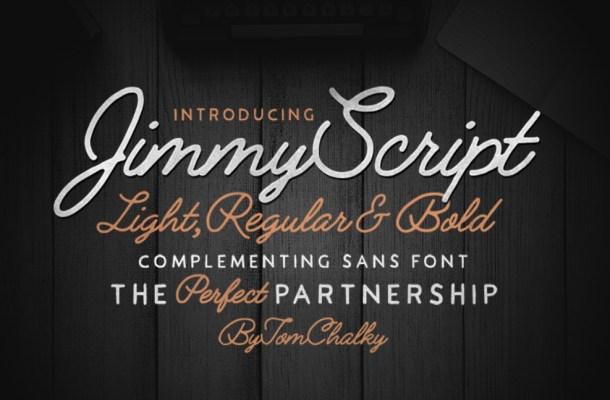 Jimmy Script Font Free