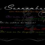 La Sonnambula Font Free