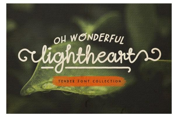 Lightheart Font Free