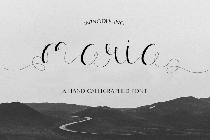 maria-calligraphy-font