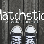 Matchstick Typeface Free