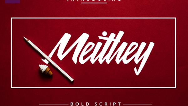 Meithey Bold Script Font Free