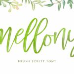 Mellony Brush Font Free