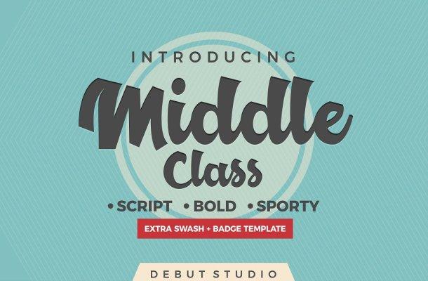Middle Class Script Font Free