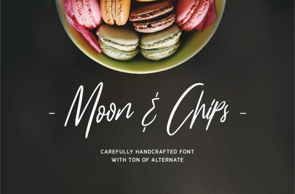 Moon & Chips Script Font Free