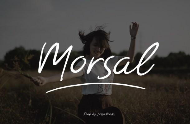Morsal Handmade Font Free