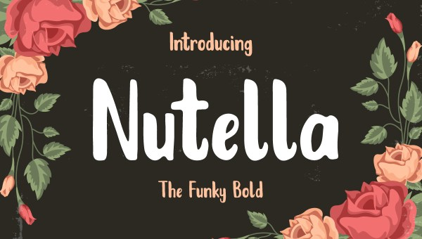 Nutella Font Free
