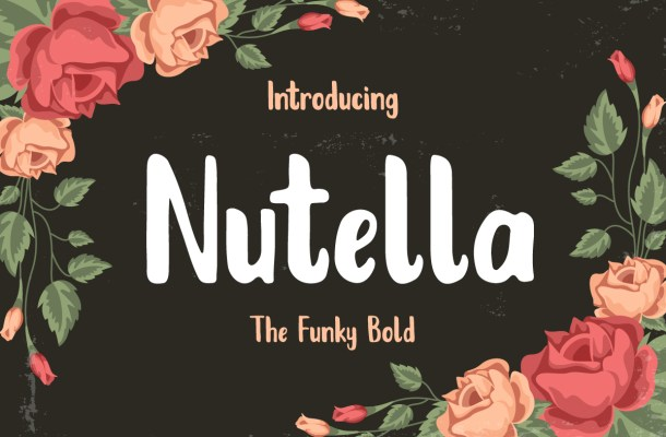 Nutella Font Free
