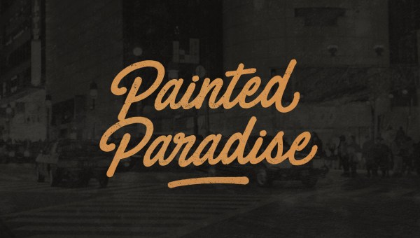 Painted Paradise Font Free