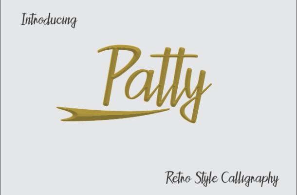 Patty Script Font Free
