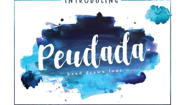 Peudada Script Font Free
