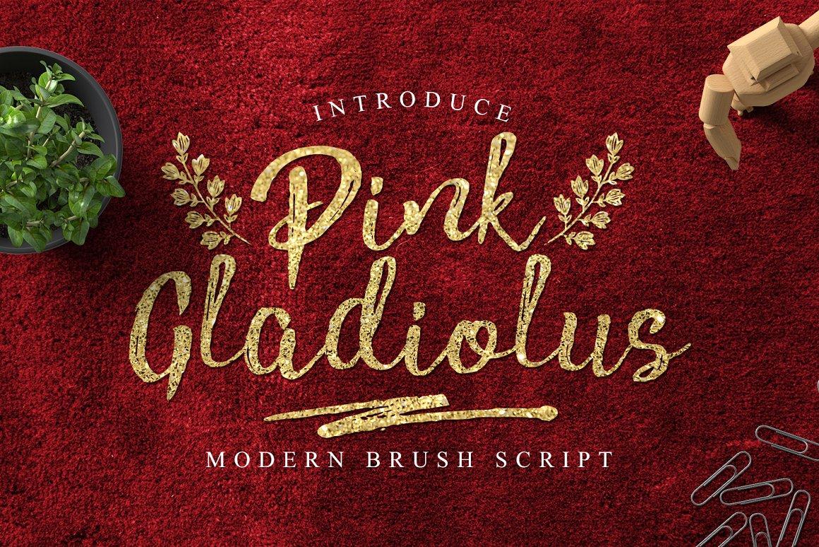 pink-gladiolus-font