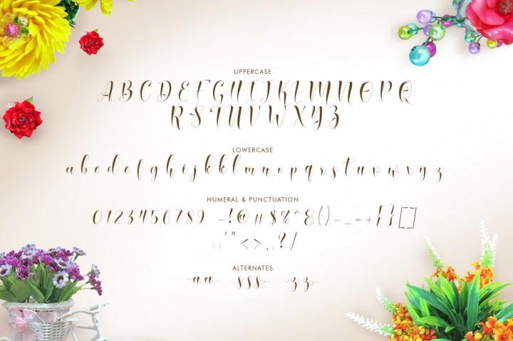 qasmi-script-font-3