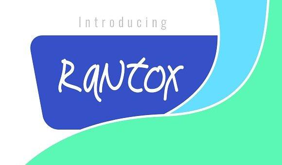 Rantox Typeface Free