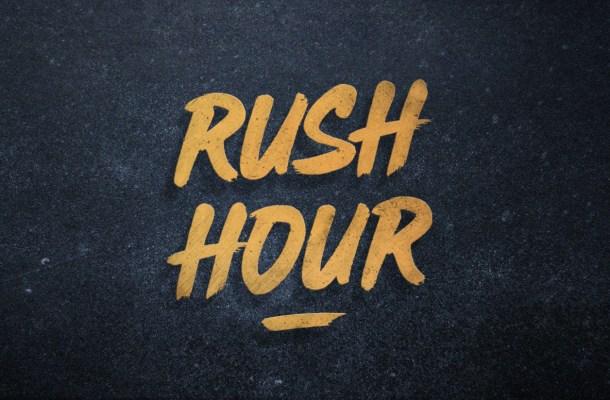 Rush Hour Brush Font Free