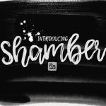 Shamber Script Font Free