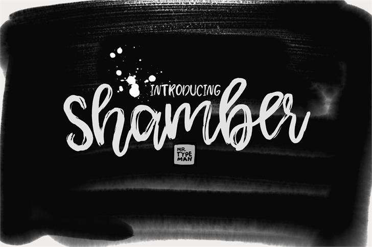 shamber-font-created-in-2017-by-mr-typeman