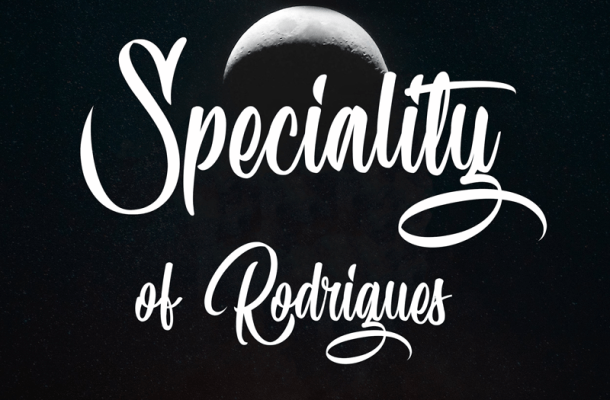 Speciality of Rodrigues Font Free