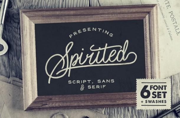 Spirited Font Family Free